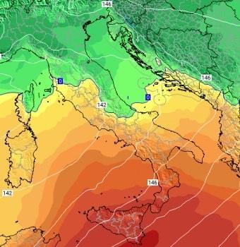 Scaldata invernale in arrivo sulla Calabria: cadranno i record sul caldo di gennaio nel Reggino e Vibonese