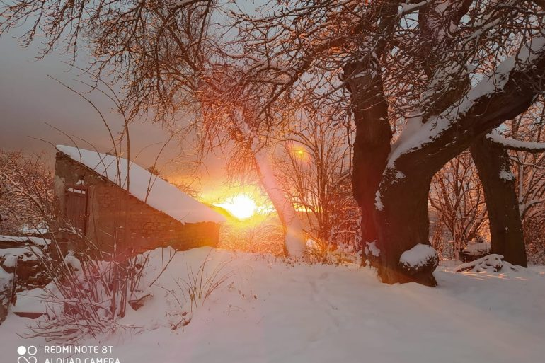 Reportage fotografico dell'evento nevoso: le immagini piu' belle dalla Calabria