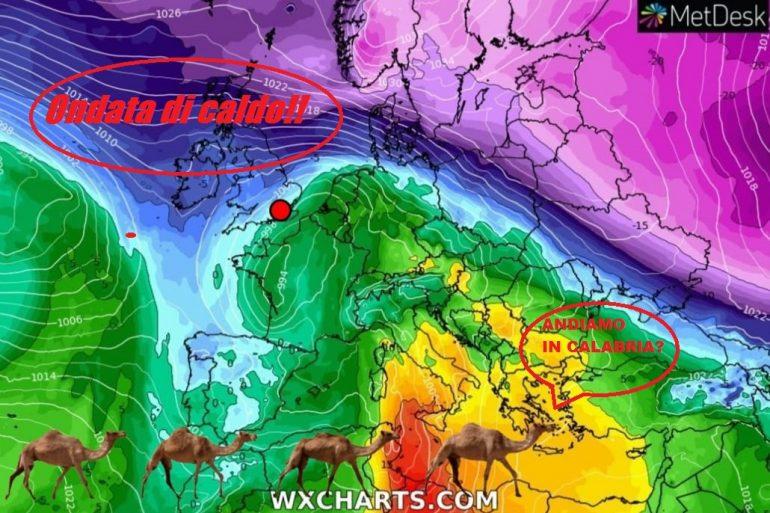 CALABRIA ANOMALIA CLIMATICA: SI, DAL 3 AL 7 FEBBRAIO CALDO PRIMAVERILE IN PIENO INVERNO!
