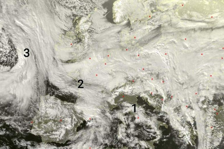 Previsioni meteo: pausa mattutina, perturbato in serata