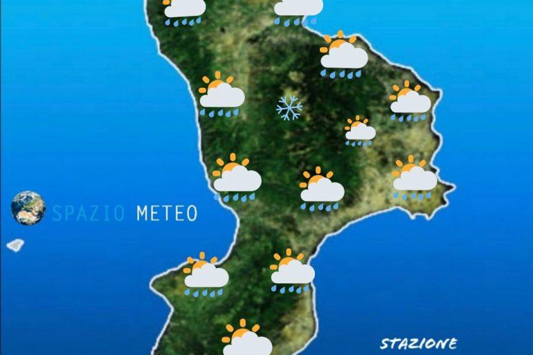 Previsioni meteo per martedì: condizioni di variabilità marcata ma in miglioramento dal pomeriggio