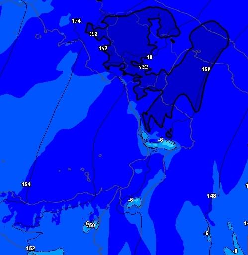 Calabria: Temperature Artiche e domani sara' ancora piu' gelido