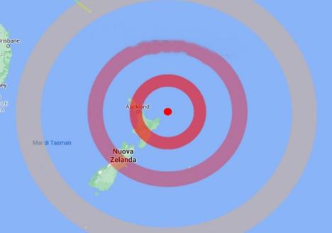 Nuova Zelanda, scossa di terremoto di magnitudo 8.1, allerta tsunami