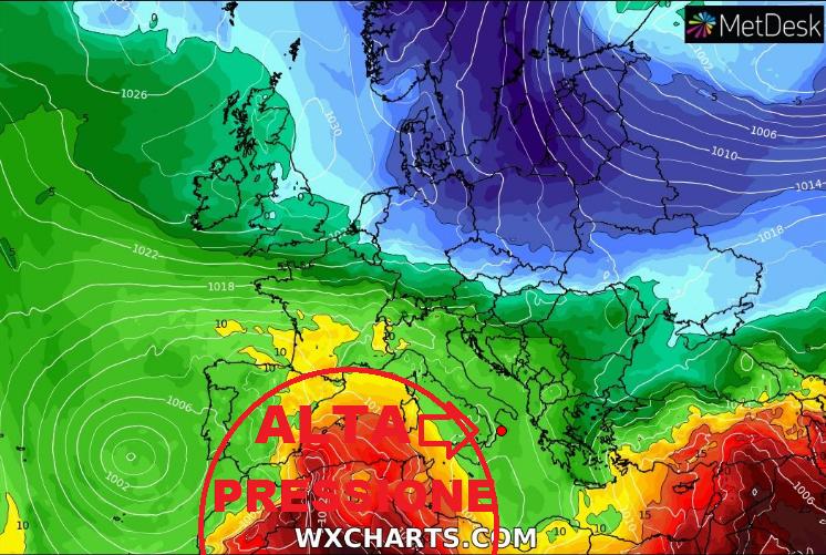 Speciale Previsioni meteo per il week end del 1° MAGGIO