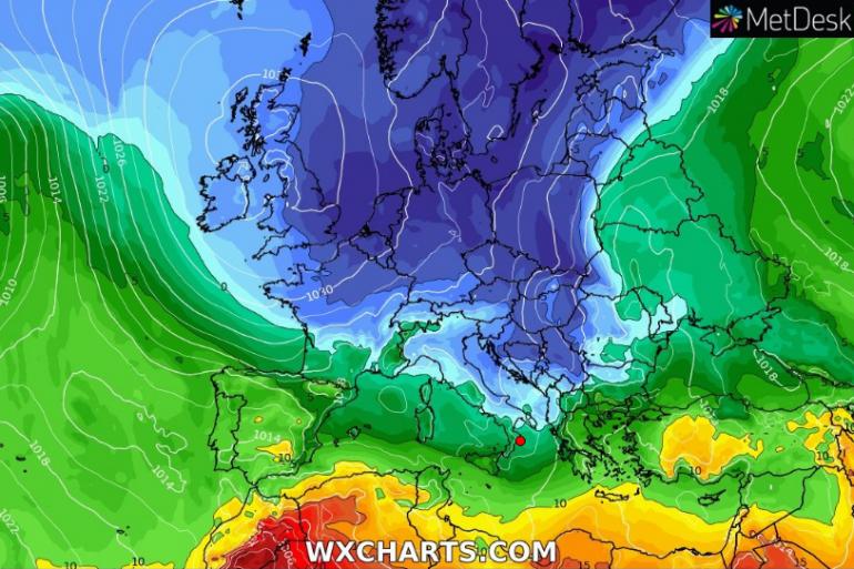 Previsioni per Mercoledi': nuvolosità diffusa con calo delle temperature
